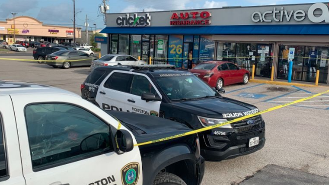 [WATCH] Footage Shows Man Being Shot While Being Robbed in Houston