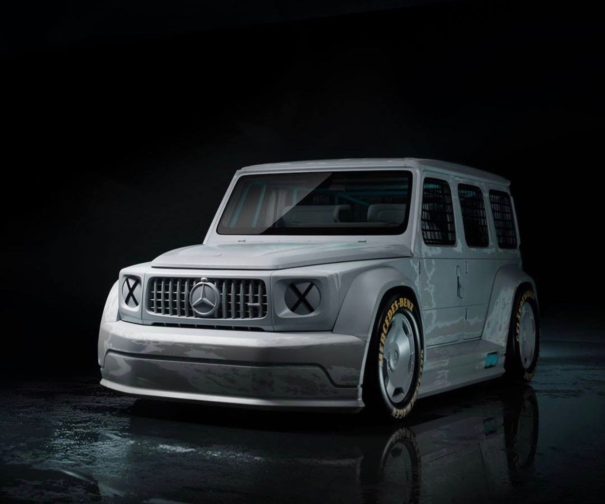Virgil Abloh and Mercedes G-Class Collaboration Revealed