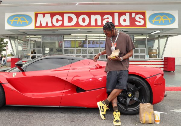 Travis Scott Pops Up at Oldest Operating McDonald's to Celebrate His Collaboration