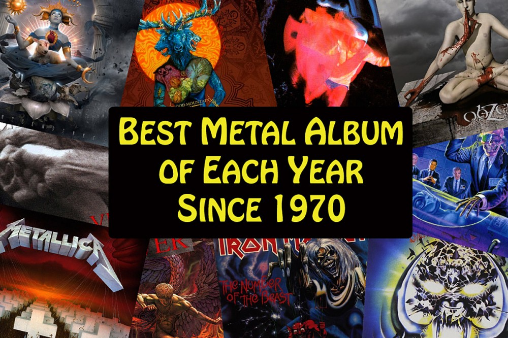 The Best Metal Album of Each Year Since 1970