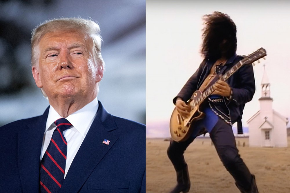 Trump Apparently Called Guns N' Roses' 'November Rain' the 'Greatest Music Video of All Time'