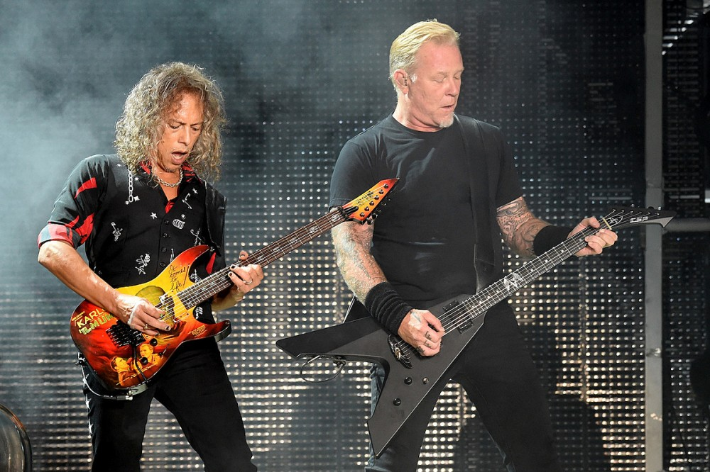 Kirk Hammett Defends Metallica's Decision to Keep Making 'Blackened' Whiskey