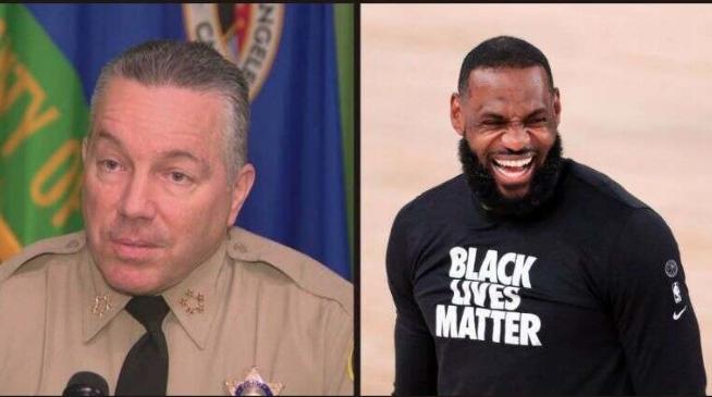LA Sheriff Challenges LeBron James to Match Reward for Gunman Who Shot Deputies