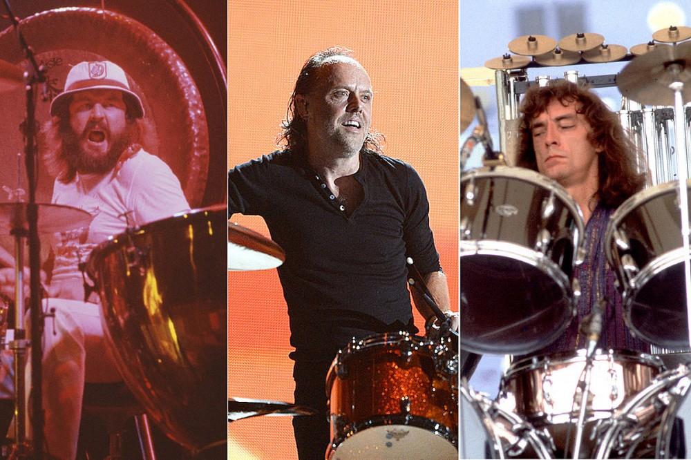 Metallica's Lars Ulrich Settles the John Bonham vs. Neil Peart Debate