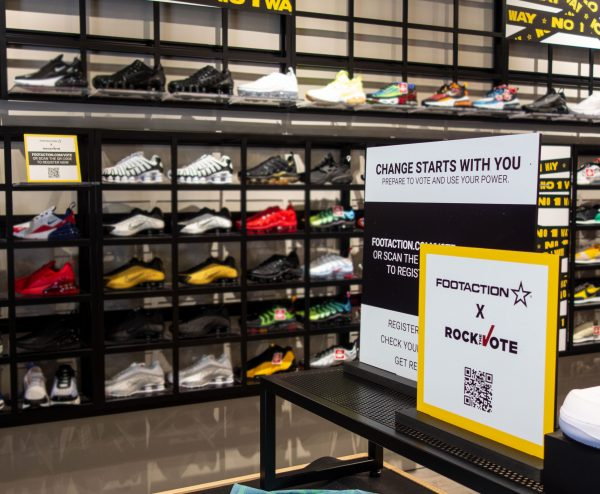 Foot Locker, Inc. Partners with Rock the Vote to Encourage Youth to Register for November Election