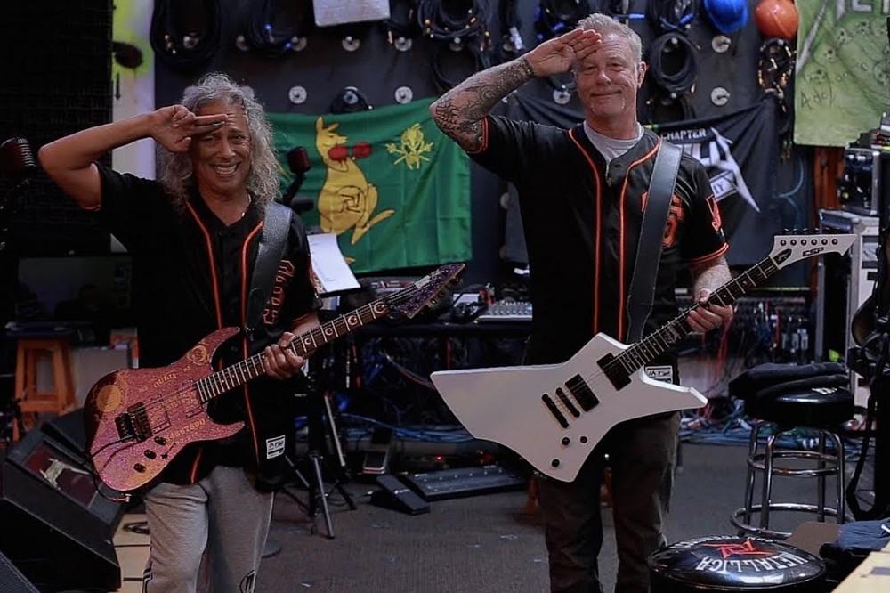 Metallica Virtually Perform National Anthem Before Giants Vs. Rockies Baseball Game