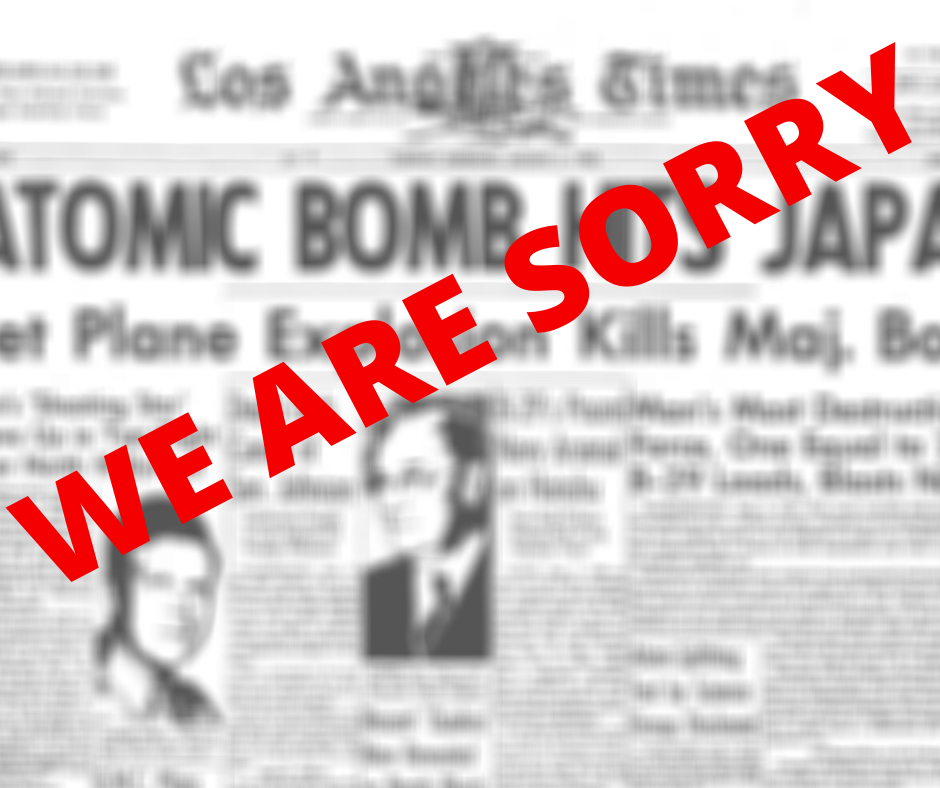 The Los Angeles Times 'Sorry' for Racist Headlines and Adding to Systemic Media Bias