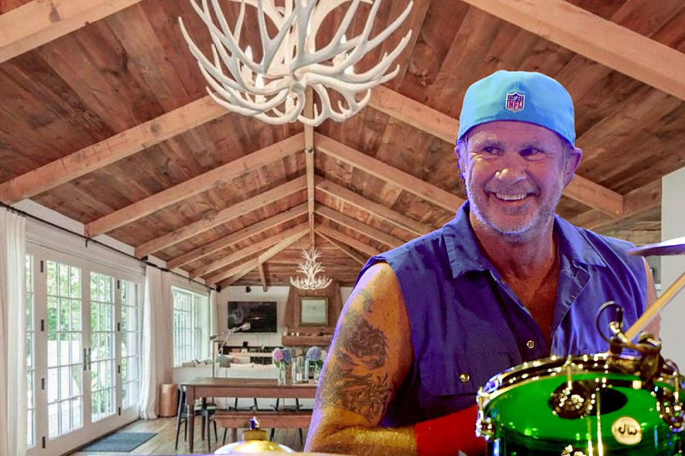 See Red Hot Chili Peppers Drummer Chad Smith's $15M Hamptons Home for Sale