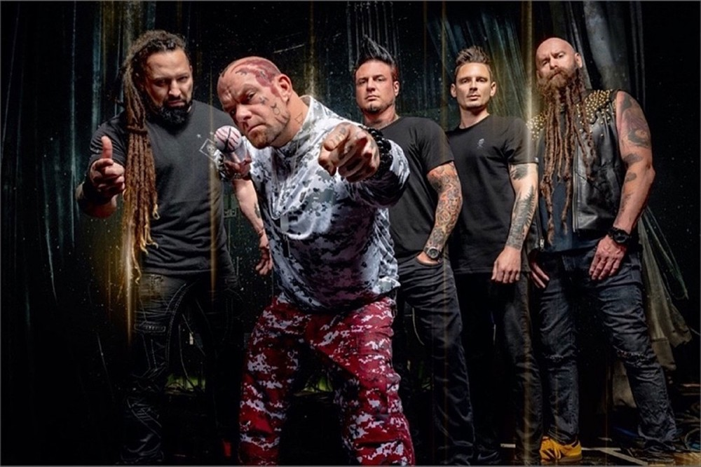 Five Finger Death Punch Debut Acoustic Version of 'Wrong Side of Heaven'
