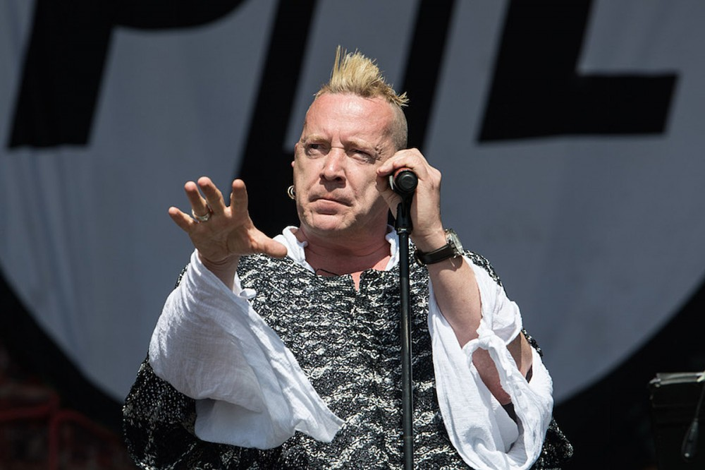 Twitter Loses It Over Johnny Rotten Wearing 'MAGA' Shirt