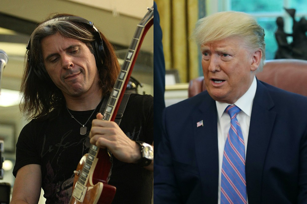Testament's Alex Skolnick Wrote a Funky Fresh Rap Song 'Trump Sucks'