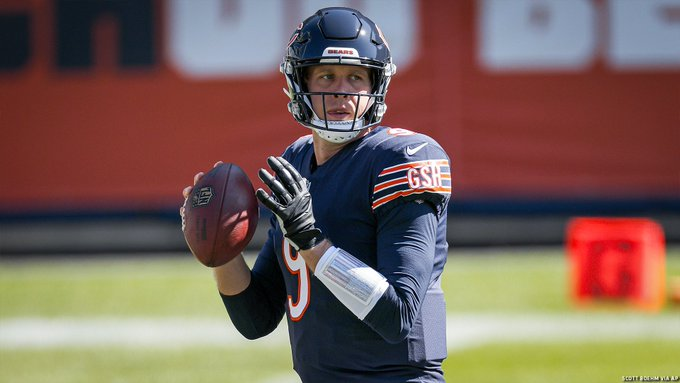 SOURCE SPORTS: Nick Foles Named Starting Quarterback for the Chicago Bears