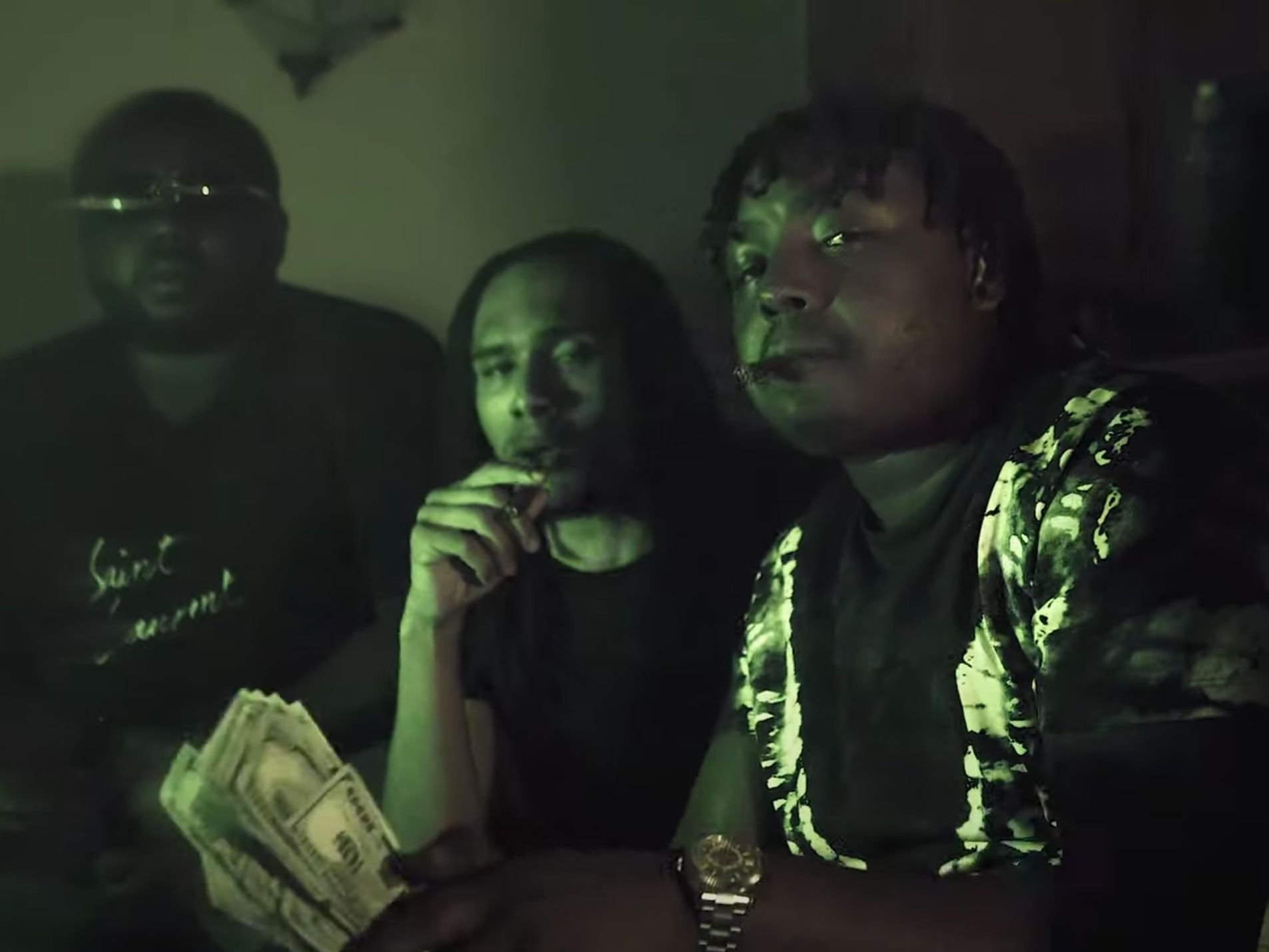 """Talibando Goes Regal In The """"Navy Music"""" Video"""