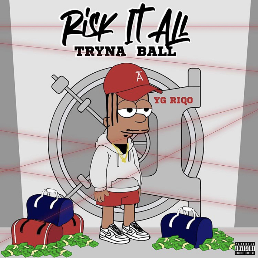 """Compton Artist YG Riqo Delivers """"Risk It All Tryna Ball"""" Mixtape"""