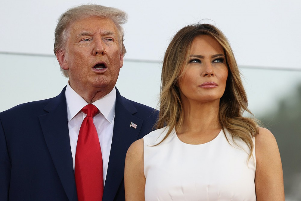 Rockers React: Donald + Melania Trump Test Positive for COVID-19