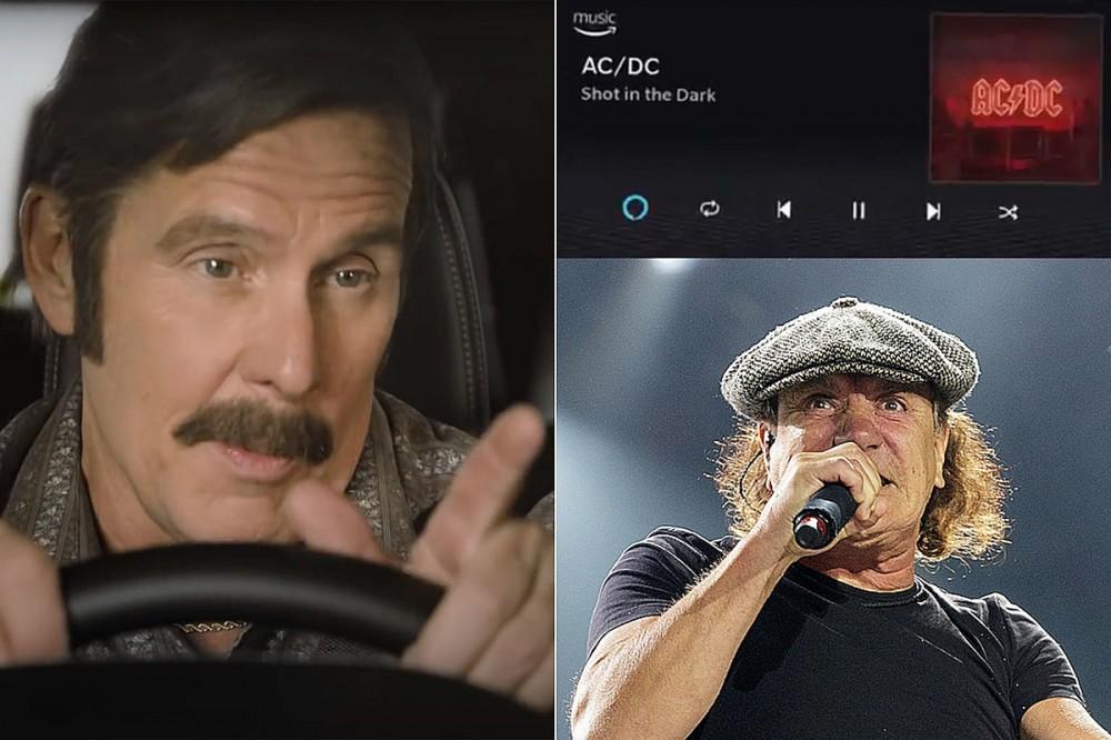 AC/DC's 'Shot in the Dark' Appears in Dodge 'Talladega Nights' Spot