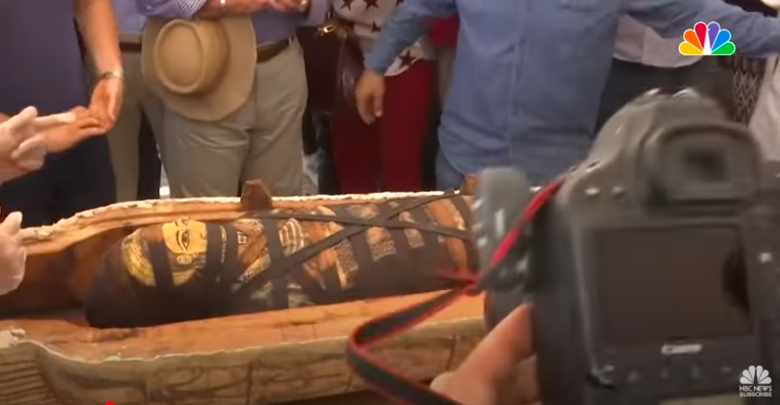 [WATCH] 59 Tombs Newly Discovered In Egypt From Over 2600 Years Ago
