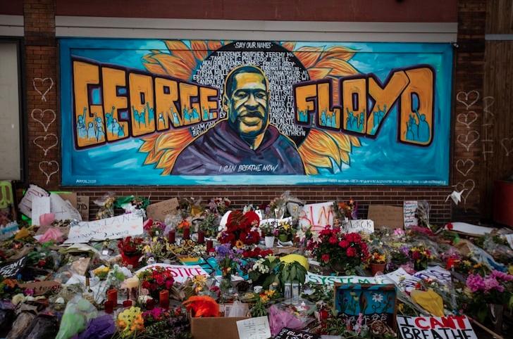 Houston Debuts George Floyd 'VOTE' Mural On His 47th Birthday