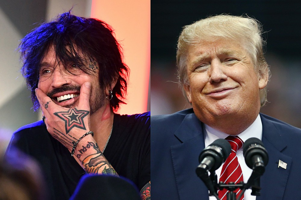 Motley Crue's Tommy Lee: 'I'll Go Back to My Motherland' if Trump Wins Re-Election