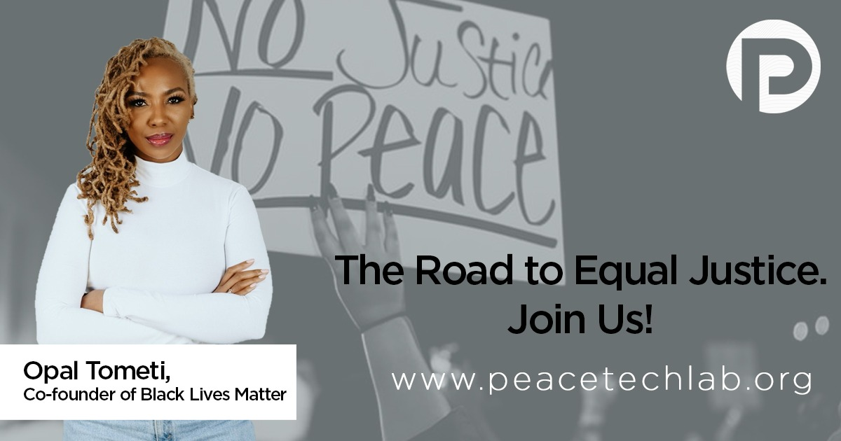 The Road to Equal Justice: Opal Tometi Partners with PeaceTech Lab