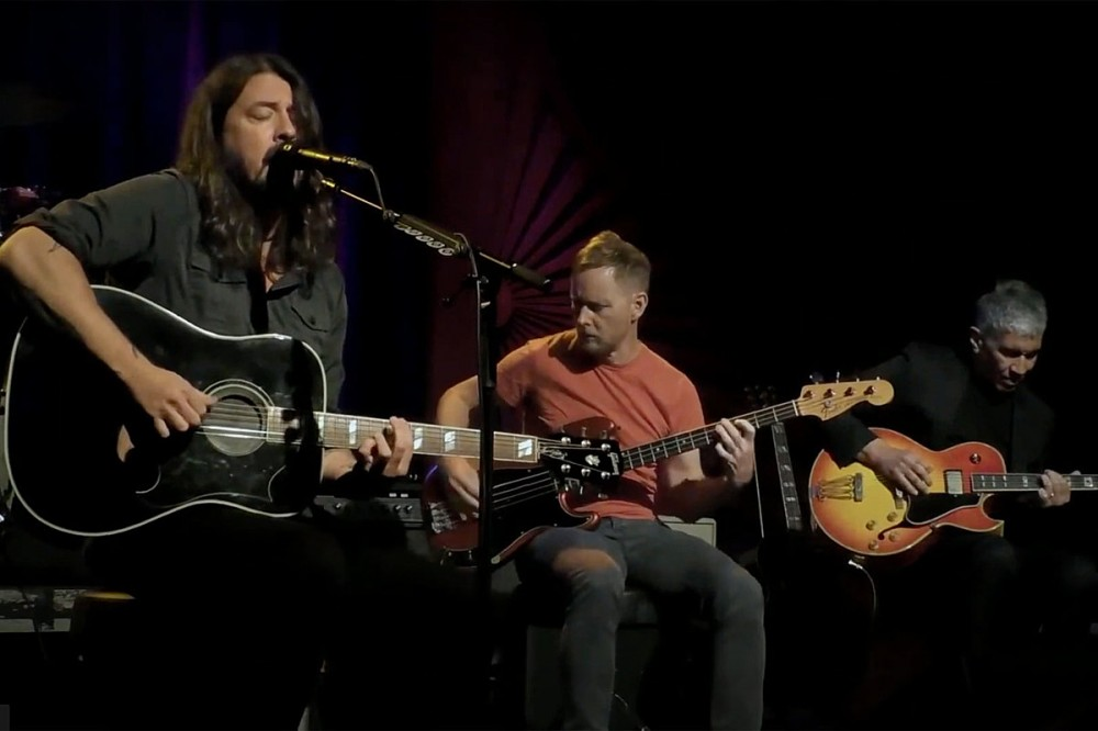 Watch Foo Fighters Acoustic Set From Save Our Stages Festival