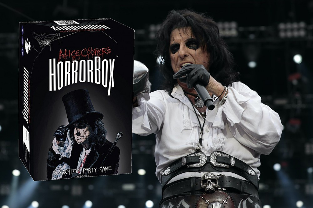Alice Cooper Releases HorrorBox Party Game Just in Time for Halloween