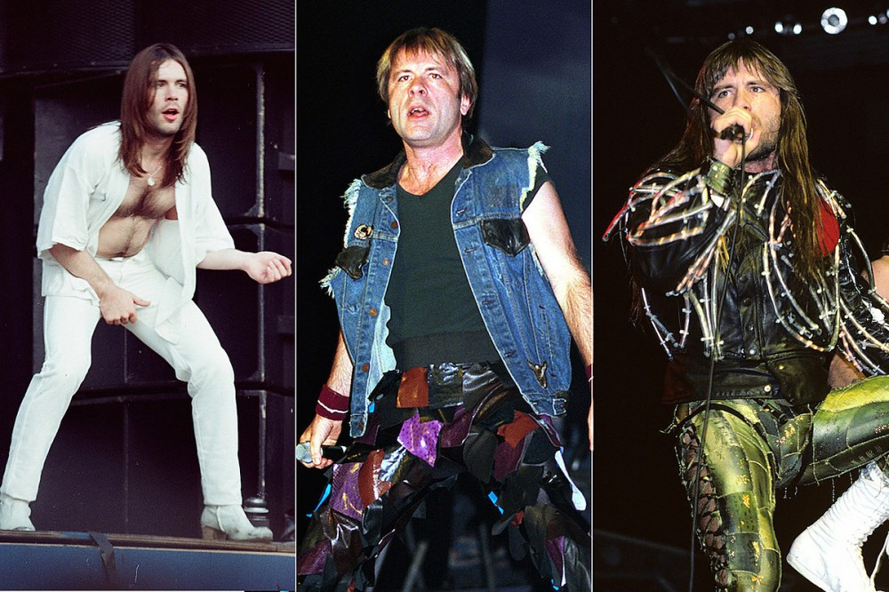 A Visual History Of Bruce Dickinson's Ridiculous Stage Pants