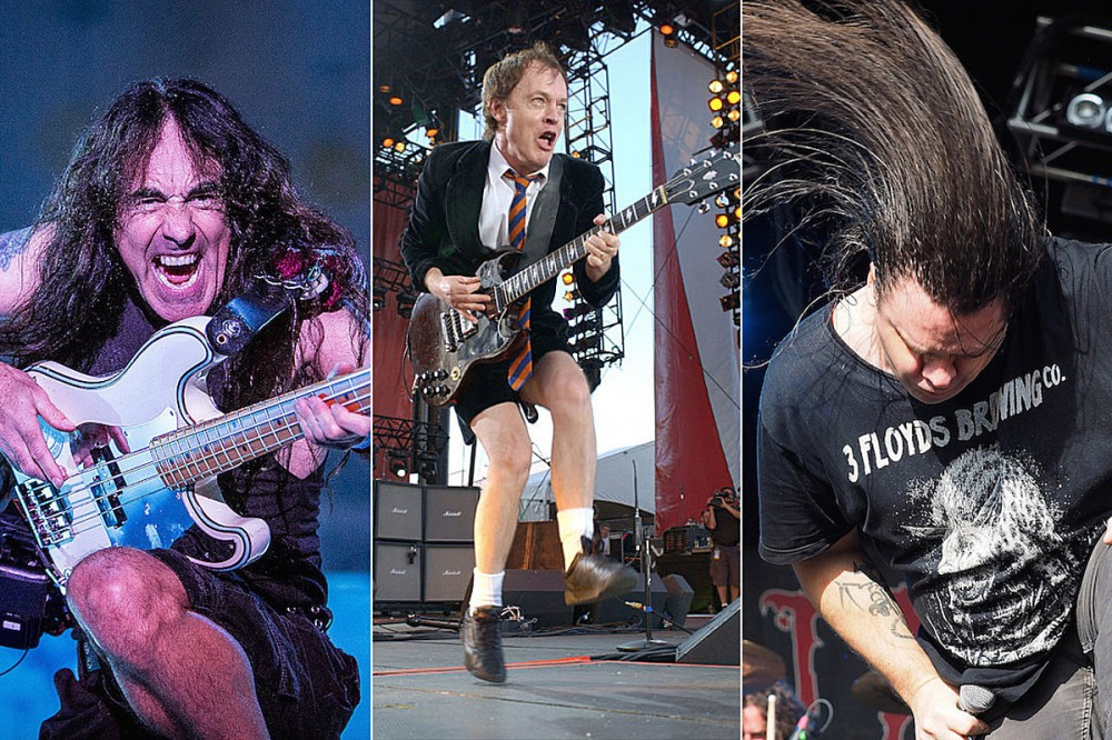 13 of the Best Signature Rock + Metal Stage Moves