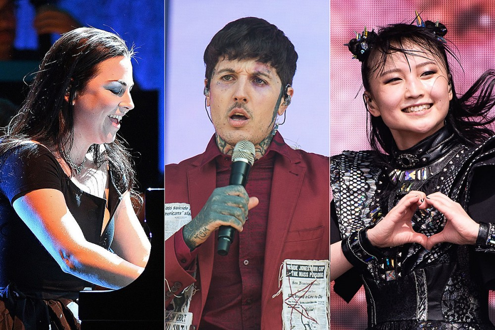 Listen: New Bring Me the Horizon Songs Feat. Amy Lee + Babymetal