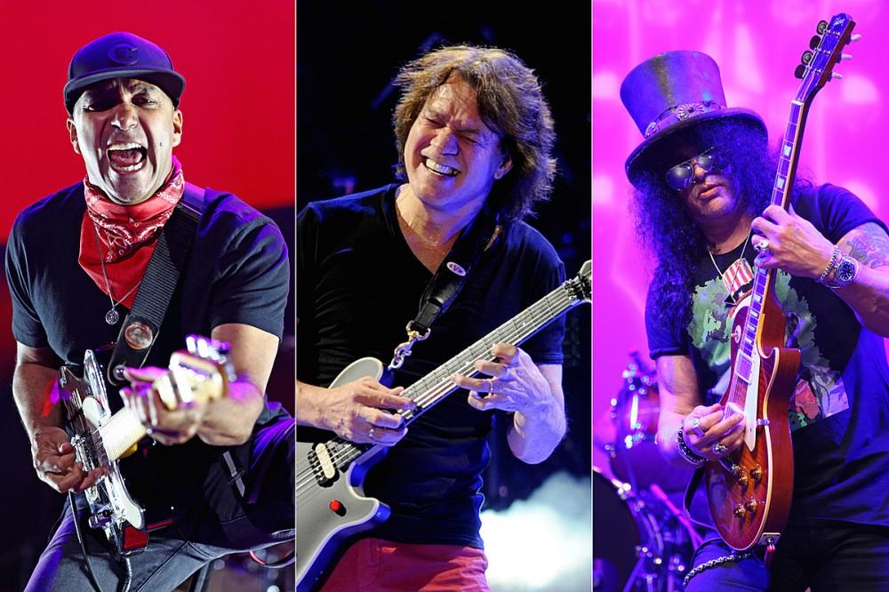Listen: Tom Morello's Eddie Van Halen Tribute Song + Slash Guest Collab