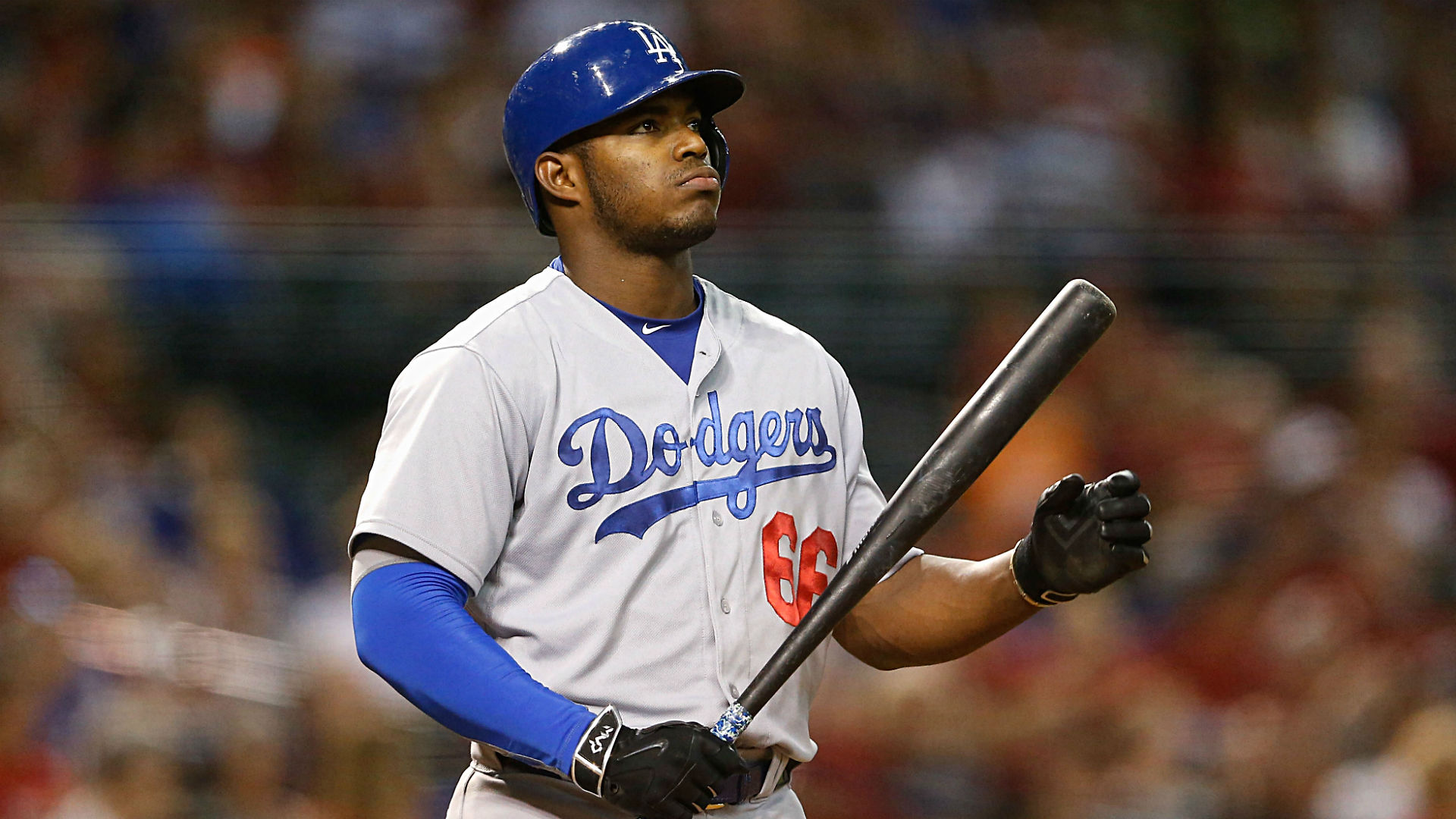SOURCE SPORTS: MLB Star Yasiel Puig Sued For Sexual Battery At Lakers Game