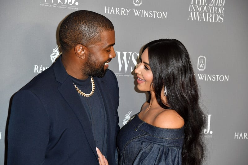 Kanye West Gifts Kim Kardashian a Heavenly Hologram of Her Late Father Wishing Her Well