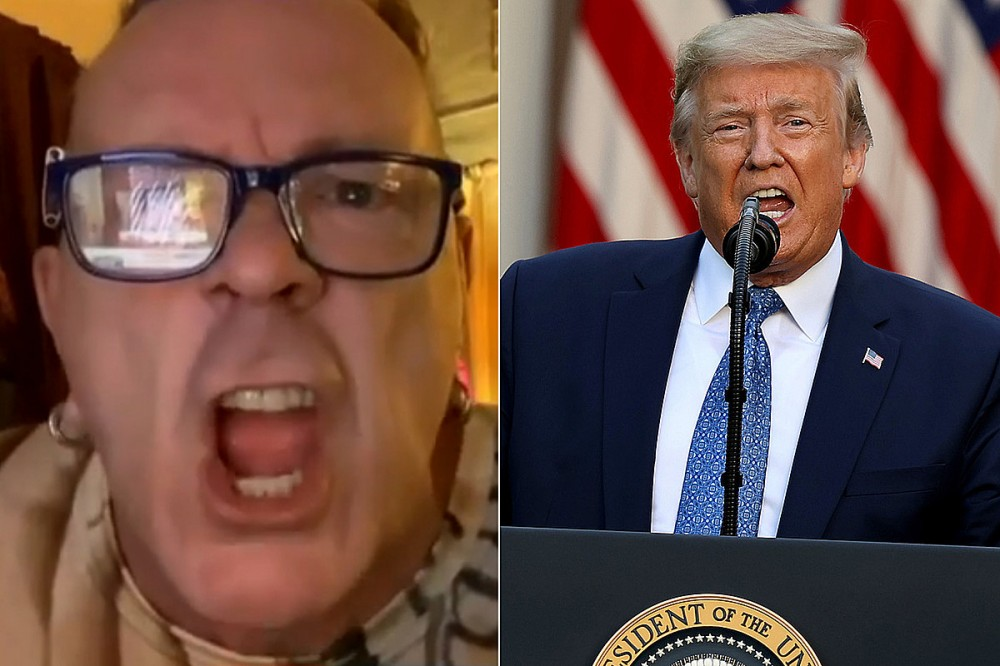Johnny Rotten Gets Heated While Defending Trump on 'Good Morning Britain'