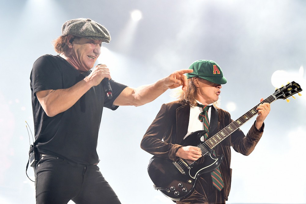 AC/DC's Brian Johnson: We Hope 'Power Up' Will Inspire Kids to Pick Up the Guitar + Be in a Band