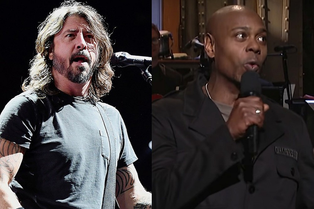 Foo Fighters + Dave Chappelle to Perform on 'Saturday Night Live' This Weekend