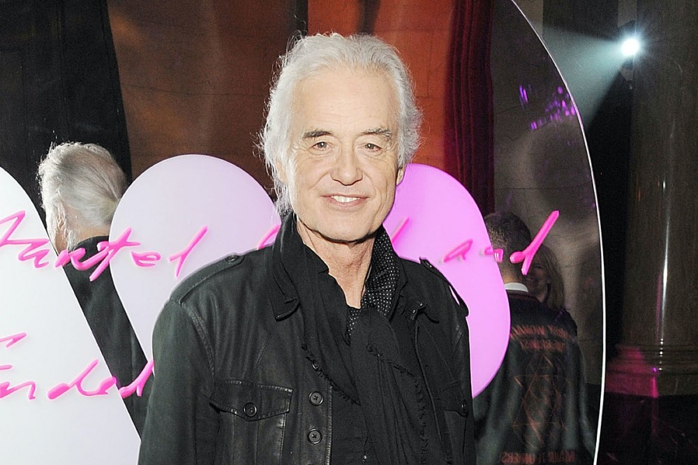 Led Zeppelin's Jimmy Page Mourns Death of His Ex-Wife
