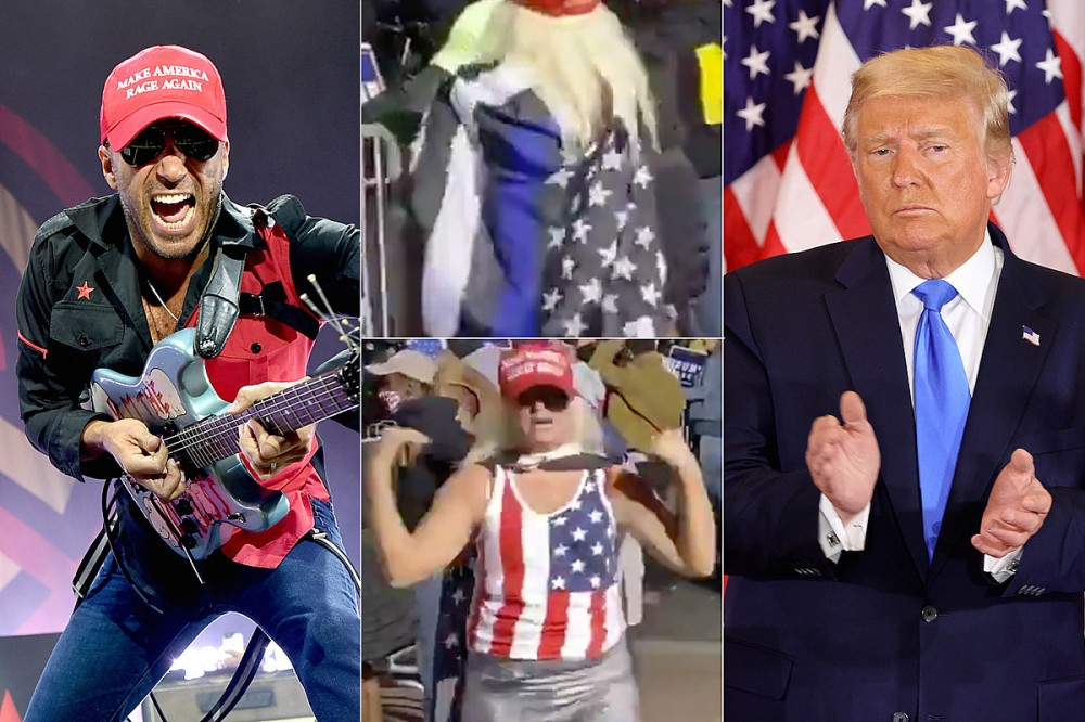 Tom Morello Reacts to Trump Supporters Dancing to Rage Against the Machine's 'Killing in the Name'