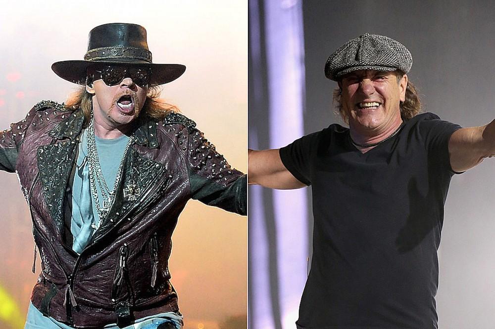 Brian Johnson Praises Axl Rose's Stint in AC/DC