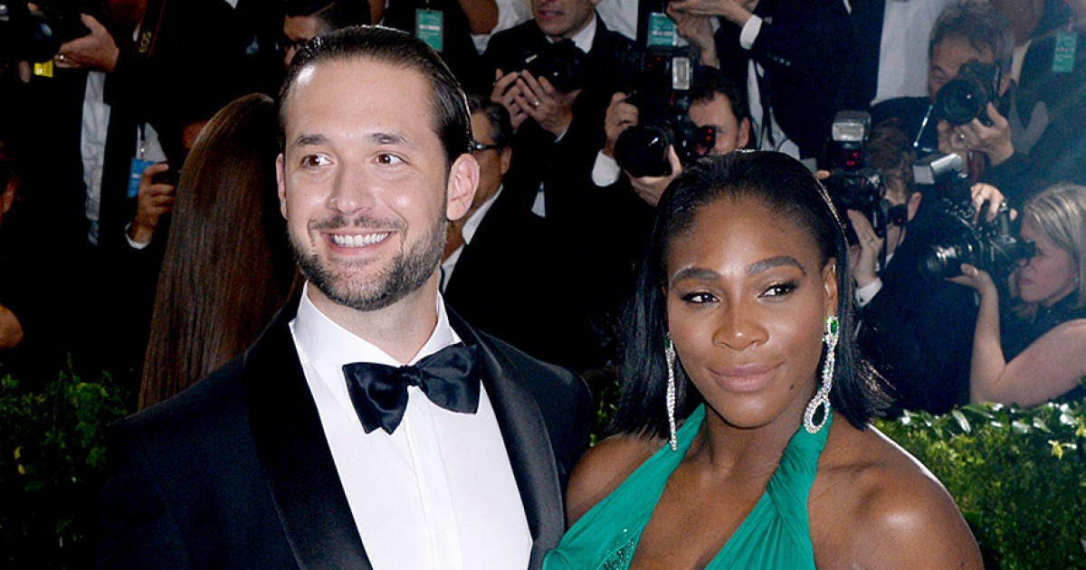 Serena Williams' Husband Admits She Taught Him About Washcloths