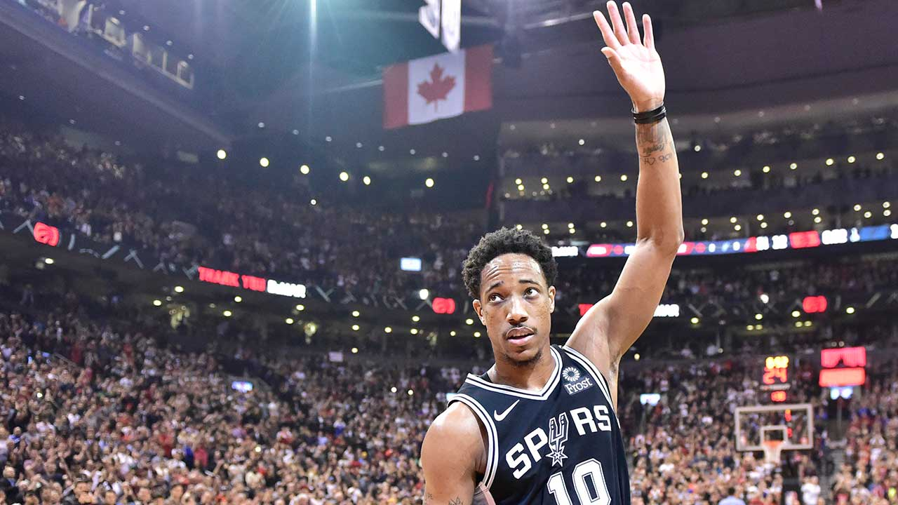 SOURCE SPORTS: Lakers Looking to Add DeMar DeRozan via Trade