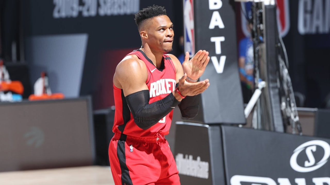 SOURCE SPORTS: Russell Westbrook Denies Rumors of Not Wanting to Play With Harden Anymore