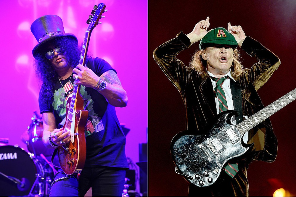 Slash Has Had AC/DC's 'Power Up' on Repeat in His Car