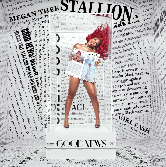 "Megan Thee Stallion Drops 'Good News' Album, Targets Tory Lanez on Opener ""Shots Fired"""