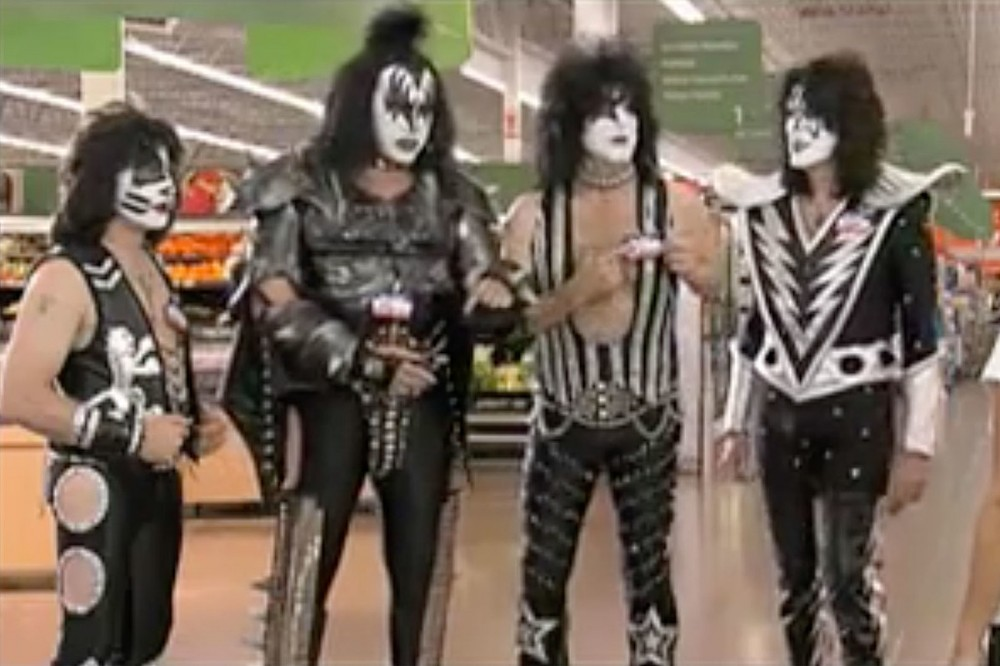 WATCH: KISS Work at WalMart in Funny Old Promo Video