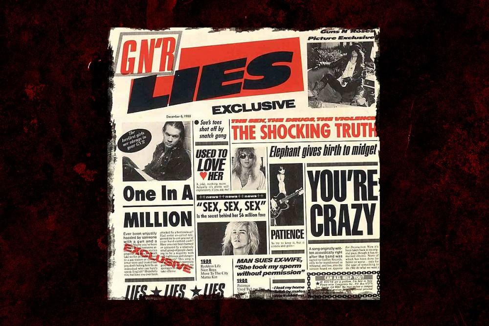 32 Years Ago: Guns N' Roses Release 'GN'R Lies'