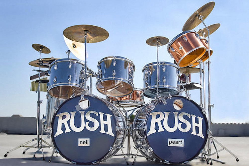 Neil Peart's Rush Drum Kit Used From 1974-1977 Sells for $500,000