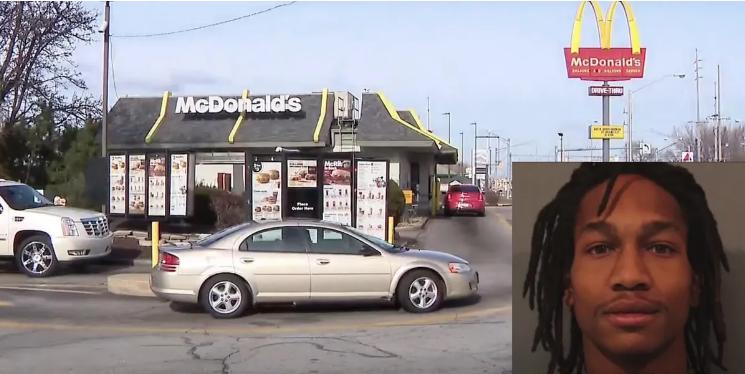 [WATCH] Murder Suspect Escapes Prisoner Transport SUV at McDonald's