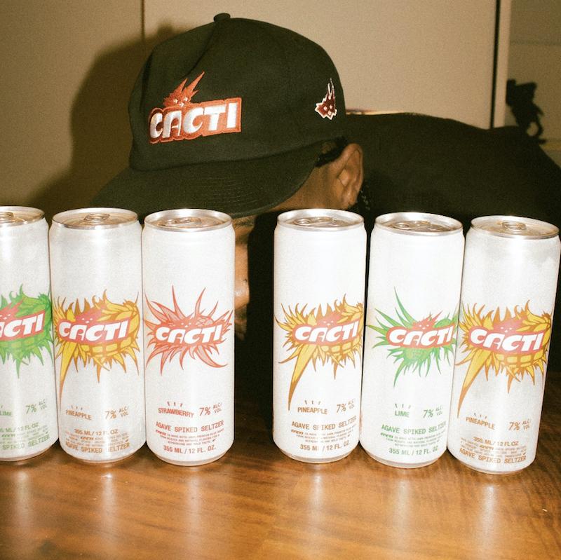 Travis Scott Announces CACTI Agave Spiked Seltzer Alongside Anheuser-Busch
