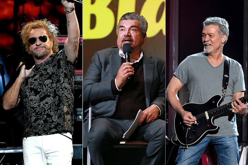 Sammy Hagar Reveals George Lopez Reconnected Him With Eddie Van Halen