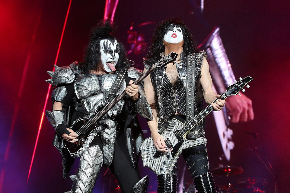 KISS Set Two World Records at Livestream Show, Gene Simmons Still Says 'Rock Is Dead'